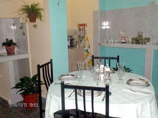 'Dining room' Casas particulares are an alternative to hotels in Cuba. Check our website cubaparticular.com often for new casas.