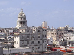 'View of the Capitol' Casas particulares are an alternative to hotels in Cuba. Check our website cubaparticular.com often for new casas.