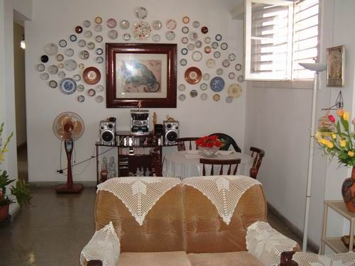 'Living & Dining room' Casas particulares are an alternative to hotels in Cuba. Check our website cubaparticular.com often for new casas.