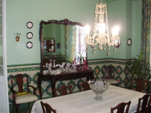 'DINING' is what you can see in this casa particular picture. Casas particulares are an alternative to hotels in Cuba. Check our website cuba-particular.com often for new casas.