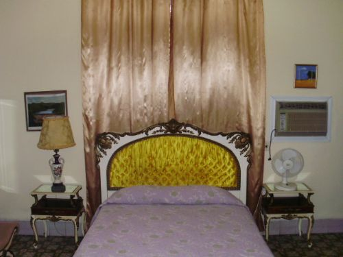 'BED 2.1' is what you can see in this casa particular picture. Casas particulares are an alternative to hotels in Cuba. Check our website cuba-particular.com often for new casas.