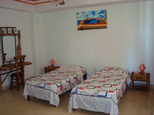 'Bedroom1' Casas particulares are an alternative to hotels in Cuba. Check our website cubaparticular.com often for new casas.