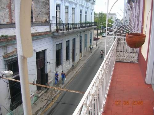 'Balcony1' is what you can see in this casa particular picture. Casas particulares are an alternative to hotels in Cuba. Check our website cuba-particular.com often for new casas.