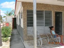 'front' is what you can see in this casa particular picture. Casas particulares are an alternative to hotels in Cuba. Check our website cuba-particular.com often for new casas.