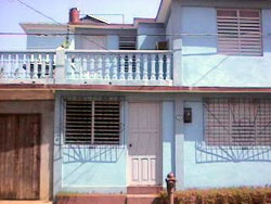 'Exterior' is what you can see in this casa particular picture. Casas particulares are an alternative to hotels in Cuba. Check our website cuba-particular.com often for new casas.