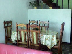 'Dining room' is what you can see in this casa particular picture. Casas particulares are an alternative to hotels in Cuba. Check our website cuba-particular.com often for new casas.