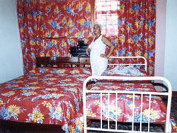 'Bedroom' Casas particulares are an alternative to hotels in Cuba. Check our website cubaparticular.com often for new casas.