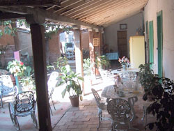 'Patio' is what you can see in this casa particular picture. Casas particulares are an alternative to hotels in Cuba. Check our website cuba-particular.com often for new casas.