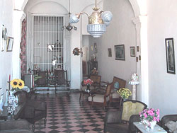 'Living room' is what you can see in this casa particular picture. Casas particulares are an alternative to hotels in Cuba. Check our website cuba-particular.com often for new casas.